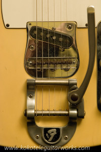 Close up of Bigsby assembly.