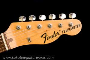 1972 Fender Telecaster headstock